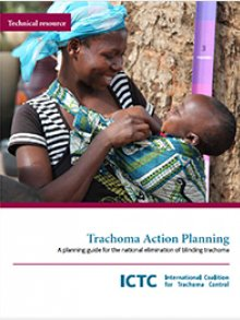Cover of ICTC's Trachoma Action Planning guide
