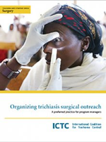 Cover for Organizing trichiasis surgical outreach