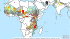Screengrab of the Global Trachoma Atlas showing trachoma prevalence in Africa