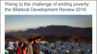 Rising to the challenge of ending poverty: The Bilateral Development Review 2016 cover