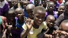 A group of children in Malawi.